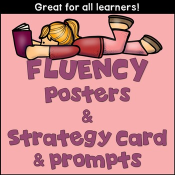 Fluency Mini-Posters, Strategy Card and Prompts!!