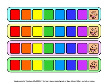 Fluency Pacing Strips for Speech Therapy - lots of uses!