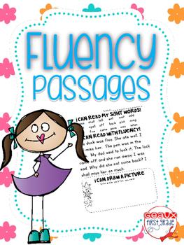 Fluency Passages