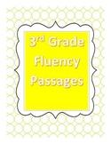 Fluency Passages  3rd Grade Readability Level