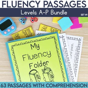 Fluency Passages Mega Bundle: Kindergarten, 1st, 2nd & 3rd
