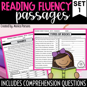 Fluency Passages for Upper Elementary Students
