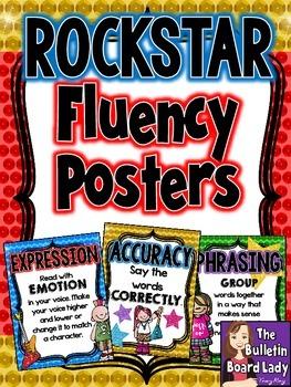 Fluency Posters -Rock Star