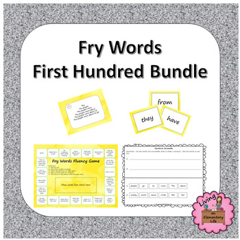 Fry Words - First Hundred Bundle