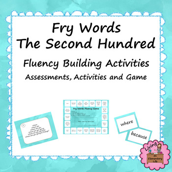 Fluency Practice with Fry Words - Second Hundred