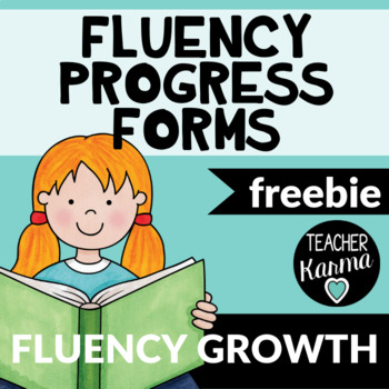 Fluency Progress Monitoring Sheets ~ RTI Data ~ Improve Reading