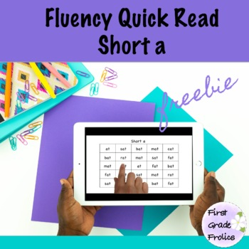 Fluency Quick Read Short a