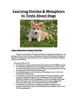 Fluency Resource Guide - Learning about Similes/Metaphors