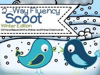 Fluency Scoot-Winter Edition