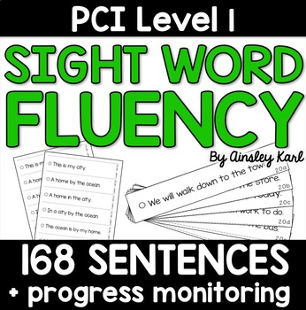 Sentences to Practice Fluency - Reading Supplements for PC