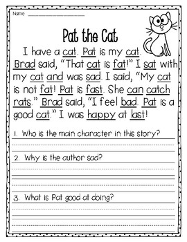 Fluency Passages to supplement Treasures - 1st Grade { The