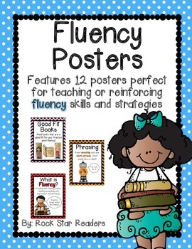 Fluency Strategy Posters {12 colorful & informative poster
