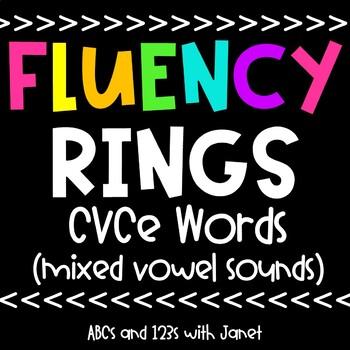 Fluency Rings (CVCe words)