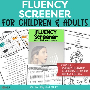 Fluency (Stuttering) Screener