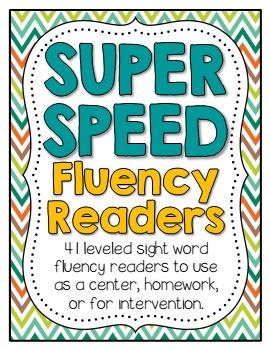 Fluency Super Speed Reader Pack