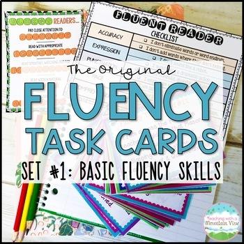 Fluency Task Cards