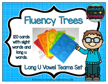 Fluency Trees- Long U Vowel Teams Set