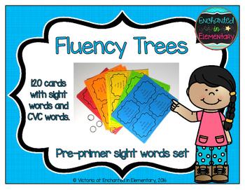 Fluency Trees- Pre-Primer Sight Word Set
