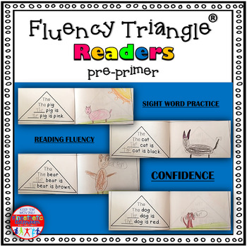 Reading Fluency Activity - Fluency Triangle Readers® for S