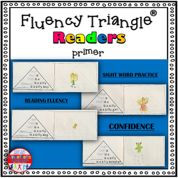 Reading Fluency Activity - Fluency Triangle Readers for Si