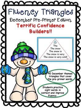 Reading Fluency Activity - Fluency Triangles® December PP