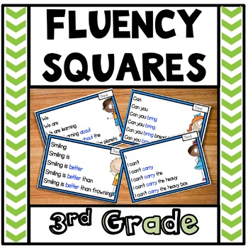 Reading Fluency Third Grade