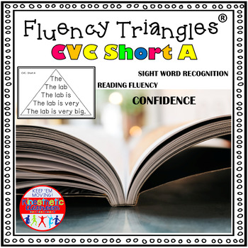 Reading Fluency Activity - Fluency Triangles® for Short A
