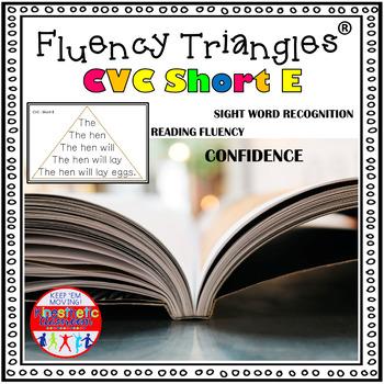 Reading Fluency Activity - Fluency Triangles® for Short E