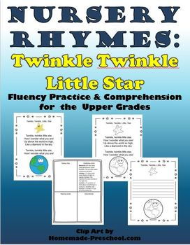 Nursery Rhymes: Fluency and Comprehension 2-5 (Twinkle, Tw