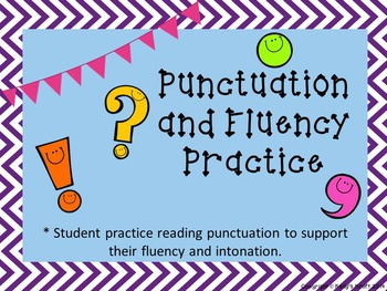 Fluency and Punctuation