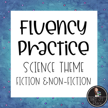 Fluency bundle Non-Fiction Science Text