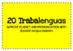 Fluency in Spanish using Tongue Twisters, Trabalenguas