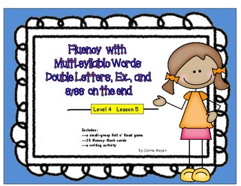 Fluency with Multi-Syllabic Words: Double Letters, Ex, & S