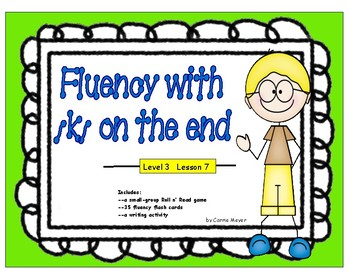 Fluency with /k/ on the end: Level 3 Lesson 7