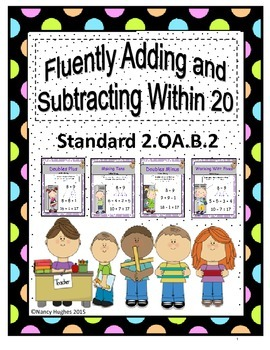 Fluently Adding and Subtracting Within 20 - Standard 2.OA.B.2