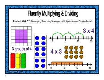 Fluently Multiplying and Dividing