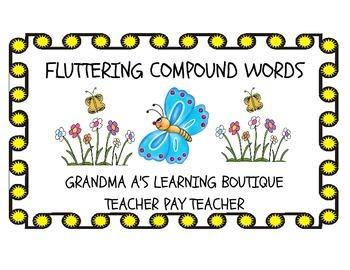 Fluttering Compound Words