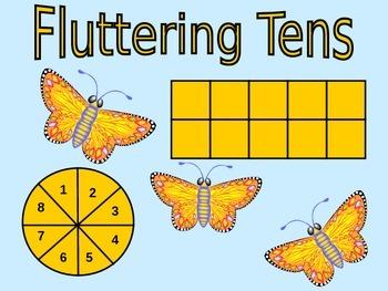 Fluttering Tens - Making 10 Game