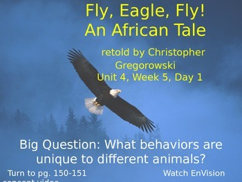 Fly, Eagle, Fly! Powerpoint Reading Street 3.4.5