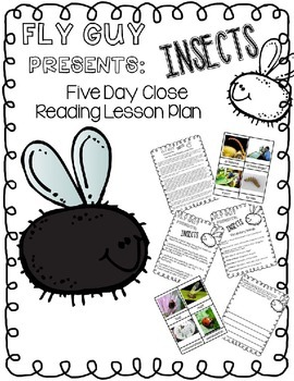 Fly Guy Presents Insects: Close Reading Five Day Plan