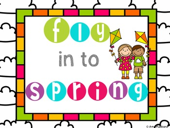 Fly In To Spring- Task Card Bundle