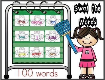 Fly Swat Words