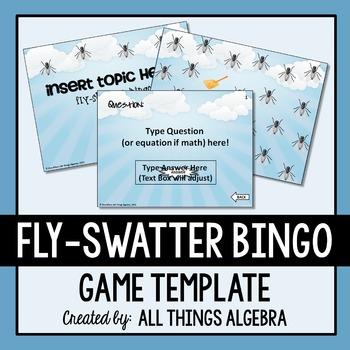 Bingo Game Template - Fly-Swatter