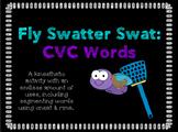 Fly Swatter Swat: CVC Words (Segmenting Onset & Rime)