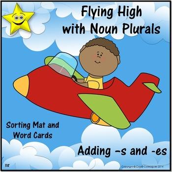 Noun Plurals, Sorting Mat Activity for Nouns Ending in -s