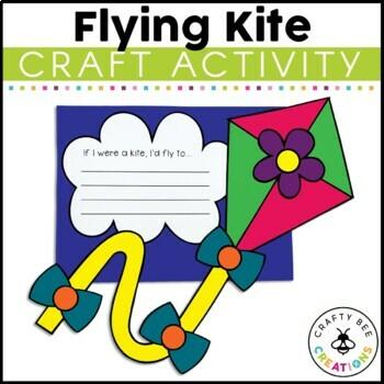Flying Kite Craftivity
