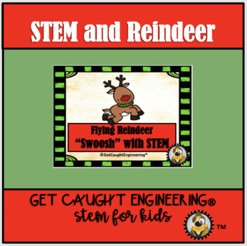 Flying Reindeer  Swoosh with STEM