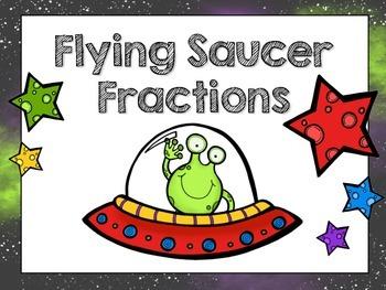Flying Saucer Fraction Task Cards