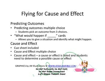 Flying for Cause and Effect