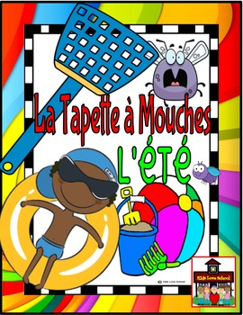 Flyswatter Game-La Tapette à Mouches-SUMMER-French FSL or